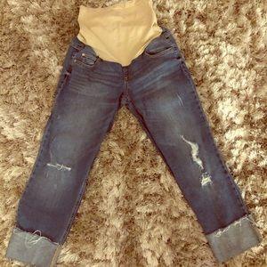 Motherhood Maternity-Indigo Blue Jeans